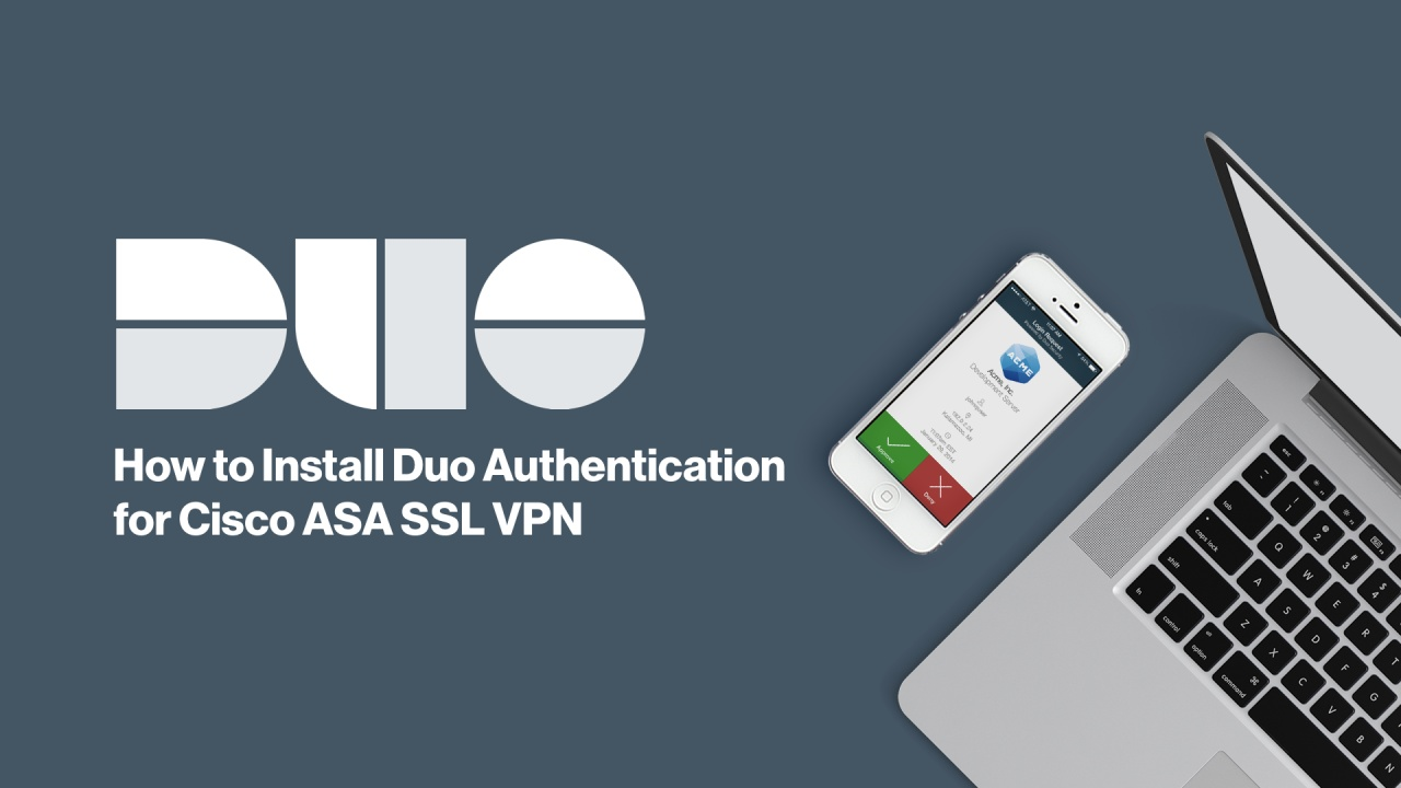 Cisco Asa Ssl Vpn For Browser And Anyconnect Duo Security