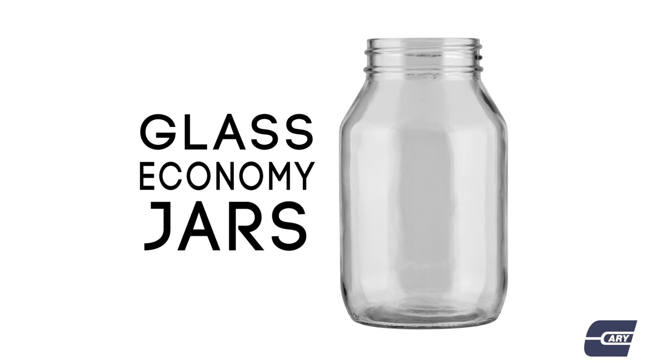 Wholesale Glass Economy Jars The Cary Company