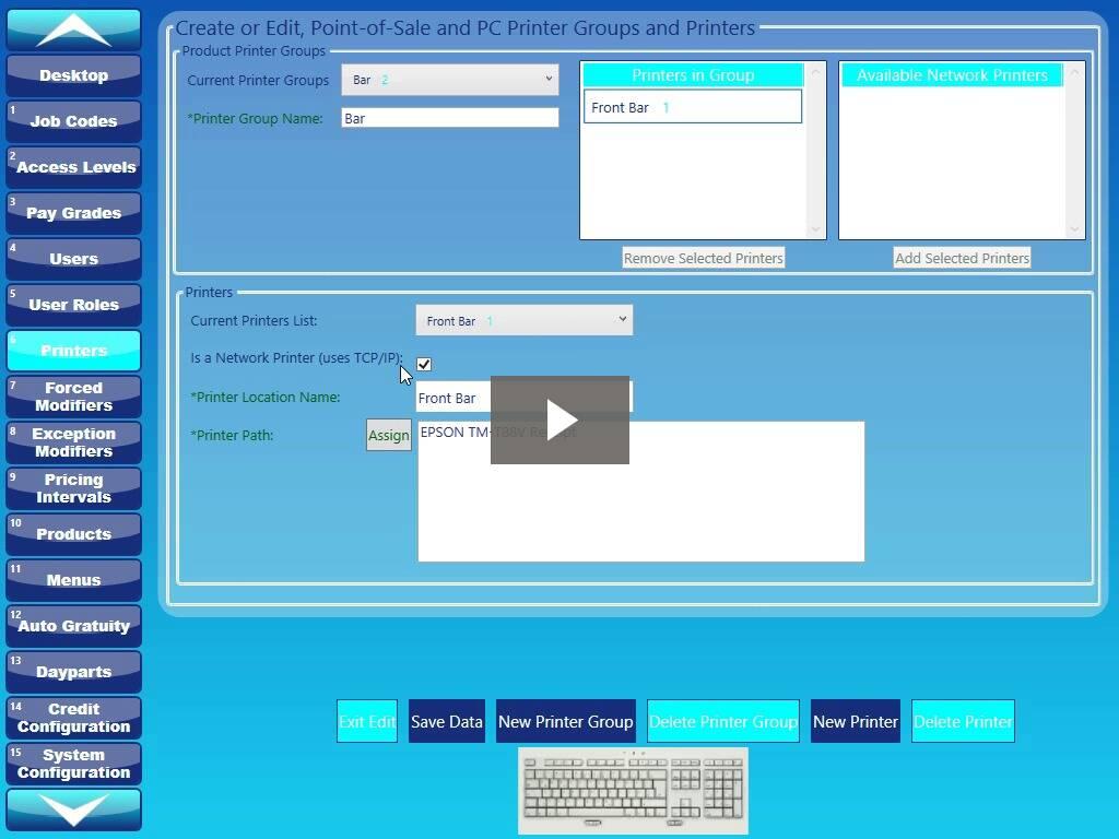 KIOSK Configuration