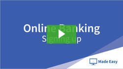 Online Banking video playlist