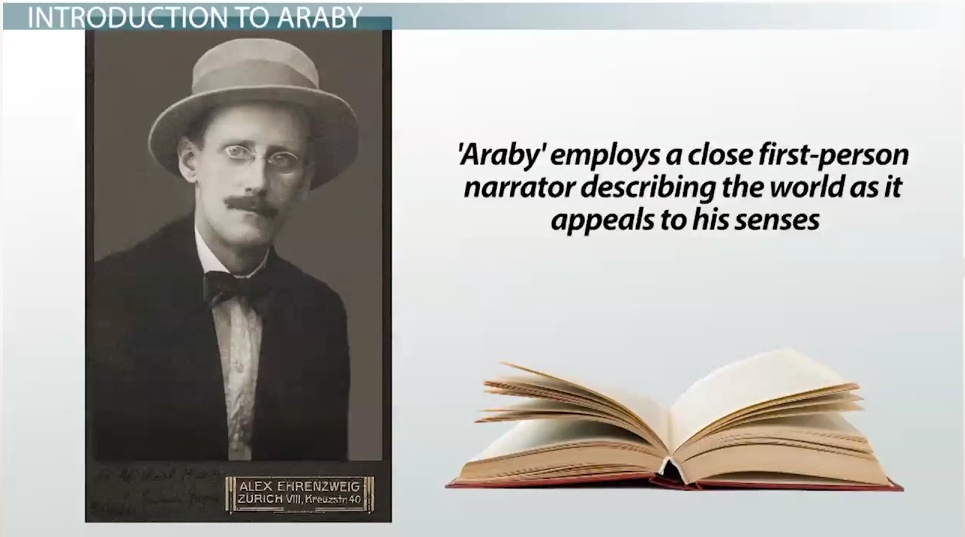 "critical essays on araby In james joyce's short story, ""araby"", the speaker's youthful idealism and naïve fantasies are left shattered when a trip to the bazaar."