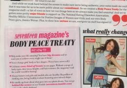 Seventeen Magazine - Body Peace Treaty thumbnail