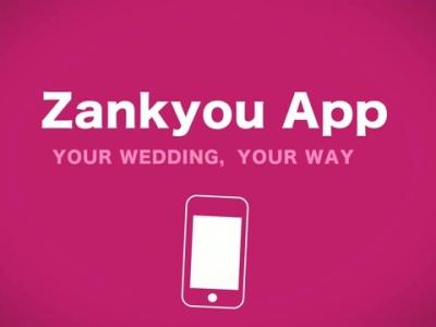 The New Zankyou Wedding App, It's a Snap!