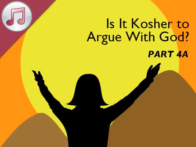 Kosher to Argue 4A