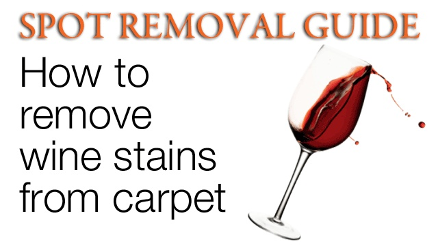 how to get wine stains out of shoes