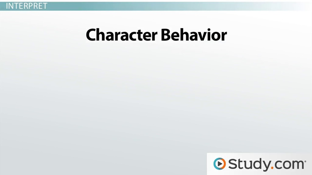 How to Analyze Characters in Literature Explanation and Examples – Character Analysis Template