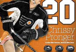 Chris Pronger - Hockey Player Mocked in Dress thumbnail