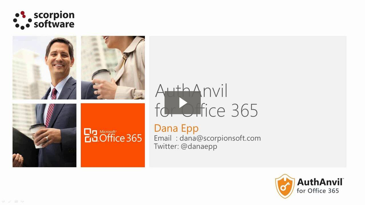AuthAnvil for Office 365