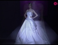 Vestidos de novia 2014 de Hannibal Laguna en Barcelona Bridal Fashion Week