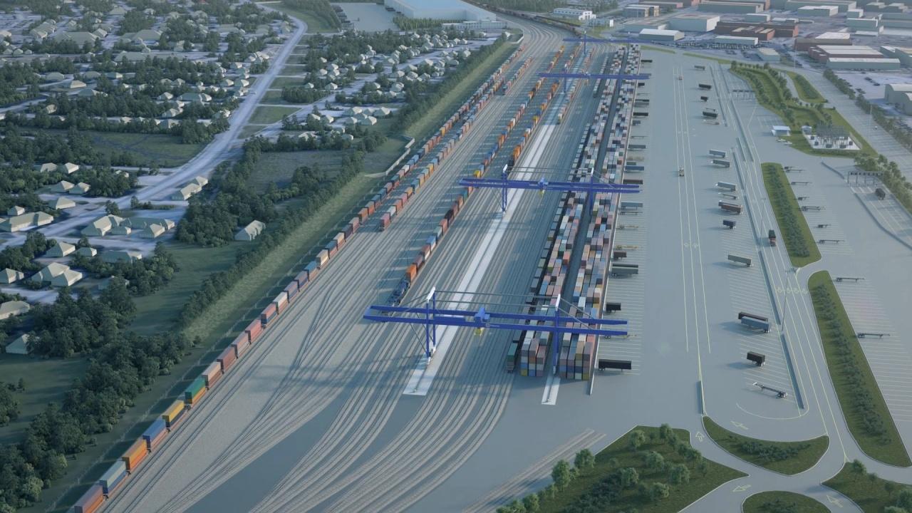 Navy Base Intermodal Facility :: Charleston ports agency