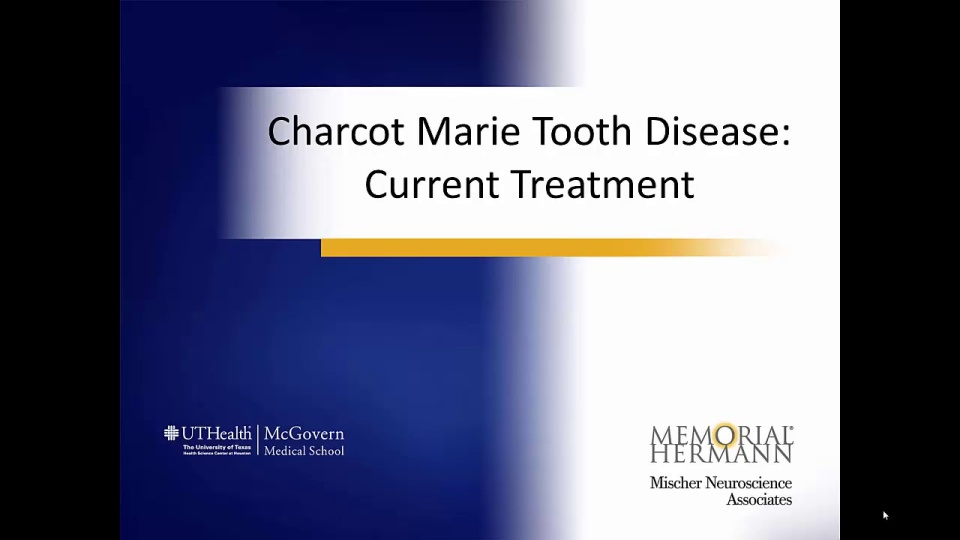 Charcot-Marie-Tooth Disease with Dr  Philip Blum