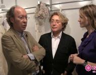 Victorio y Lucchino nos cuentan cómo son sus vestidos de novia para 2013 en Gaudí Novias