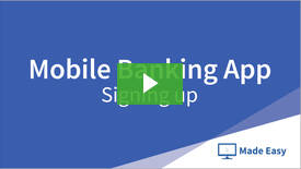Mobile Banking video playlist