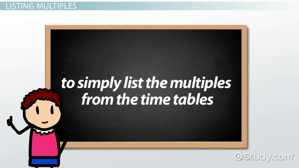 math worksheet : what is a multiple in math  definition  overview  video  : Remedial Math Meaning