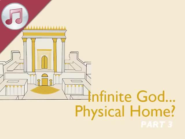 Infinite God...Physical Home? III