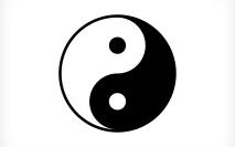 Desenhando o símbolo Yin-Yang