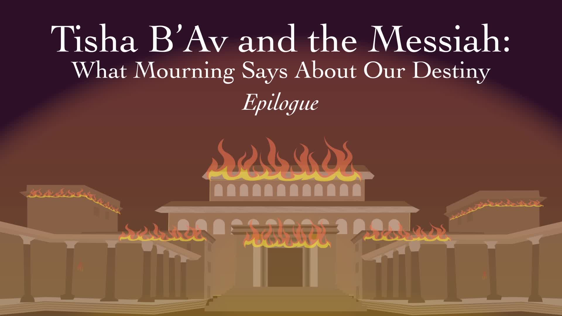 Tisha B'Av and Mashiach: Epilogue
