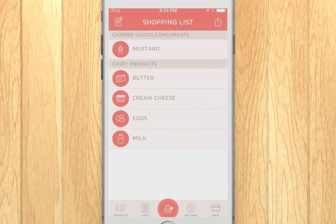 Let's Shop - Grocery shopping list is just a swipe away!