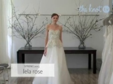 Nuevo top 10 en tendecias de vestidos de novia primavera 2013 [Video]
