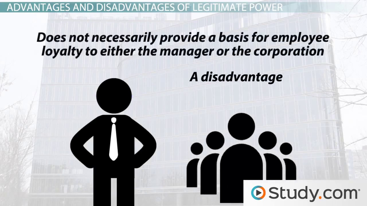 Legitimate Power in Leadership: Definition & Example - Video ...