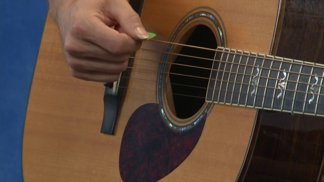Learn How To Hold A Guitar Pick And Strum The Strings