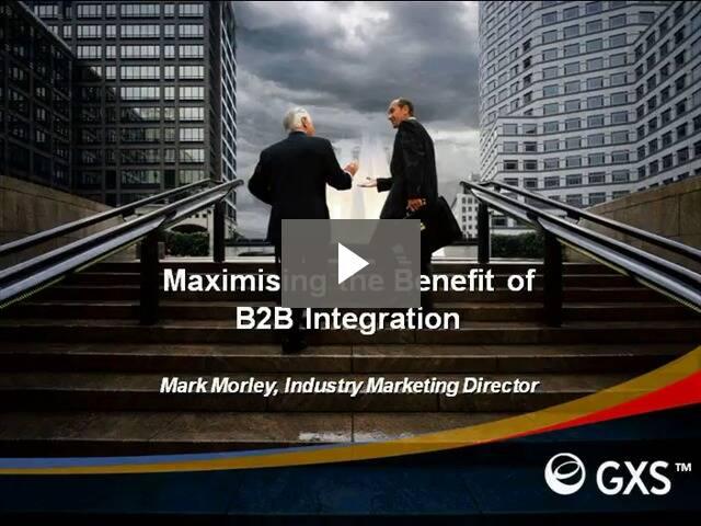 Maximizing Return on ERP and B2B Integration