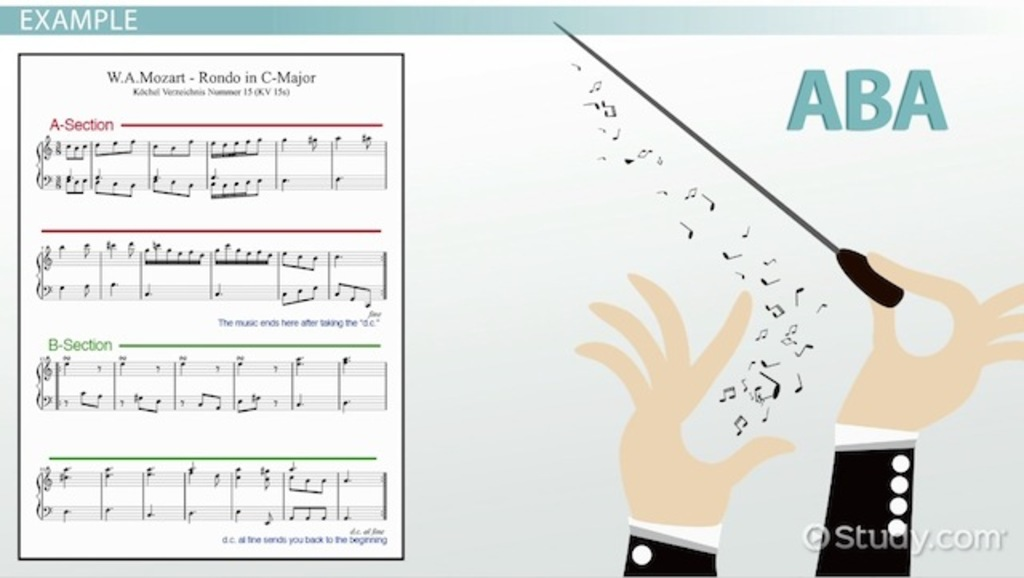 Ternary Form in Music: Definition & Examples - Video & Lesson ...