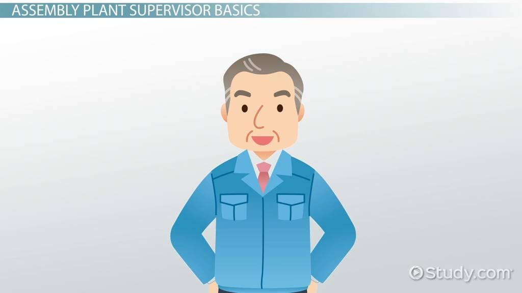 power plant supervisor resume