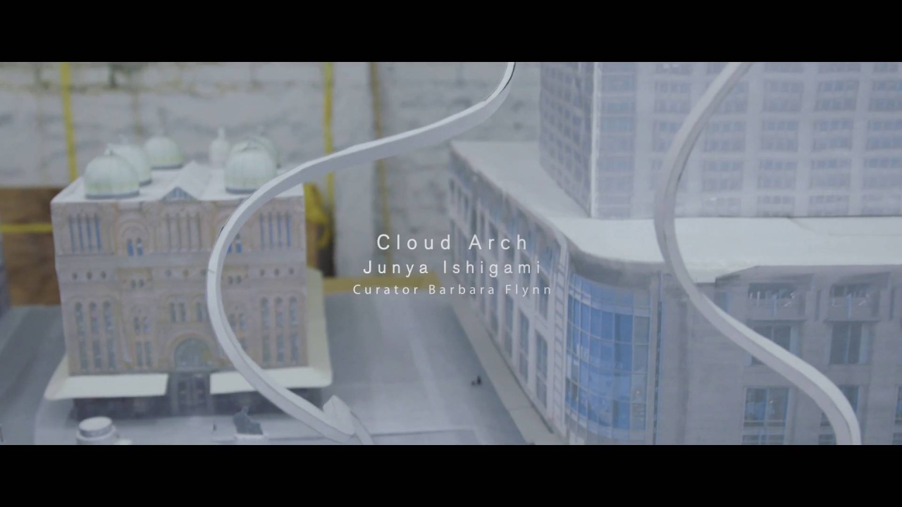 Junya Ishigami's Cloud Arch