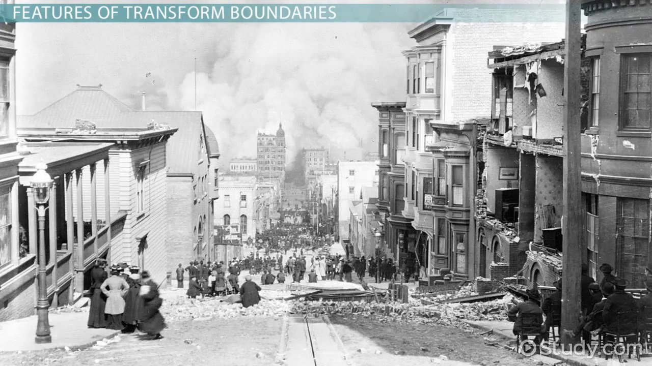 Transform Boundary: Definition, Facts & Examples  Video & Lesson  Transcript  Study