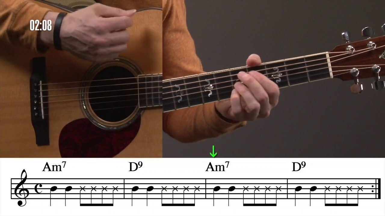 Chords With Muted Strum 1 Guitar Compass