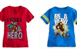 Avenger shirt for girls: I need a hero thumbnail
