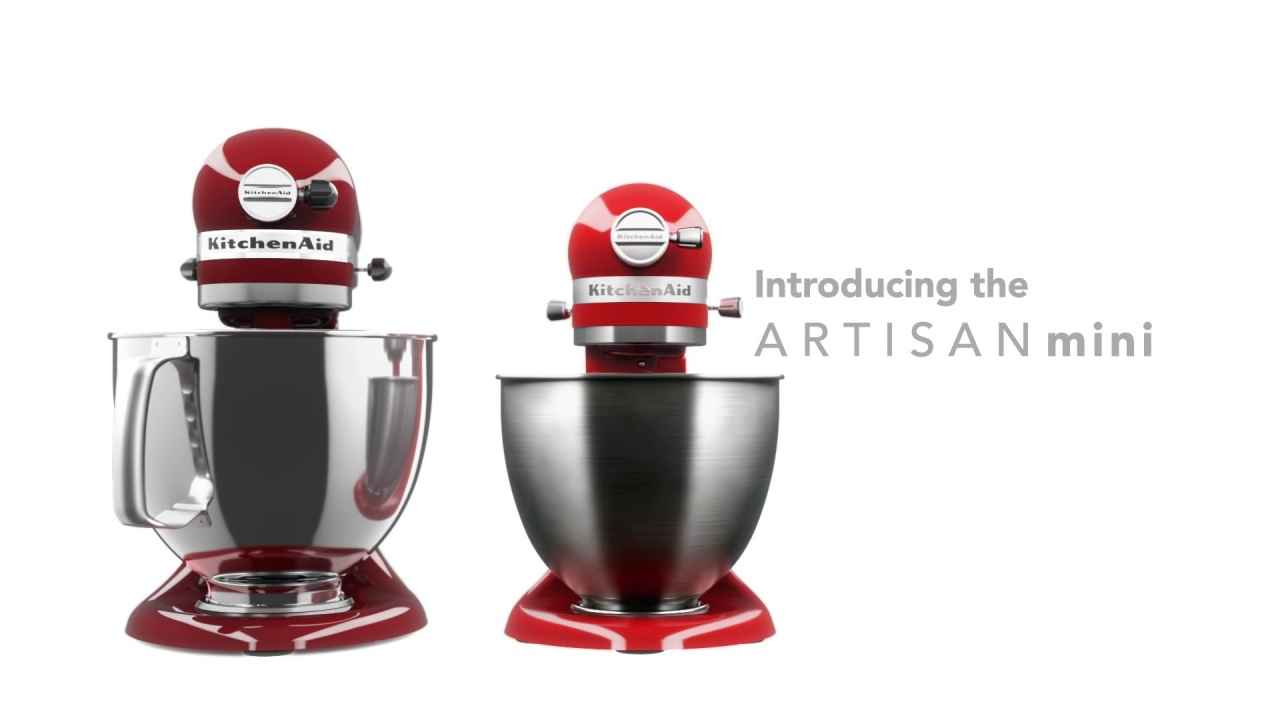 Wistia video thumbnail - New Artisan® Mini Mixer - KitchenAid