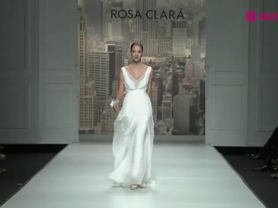 Rosa Clará Brautkleider 2015 - Heiraten mit Hollywood Flair
