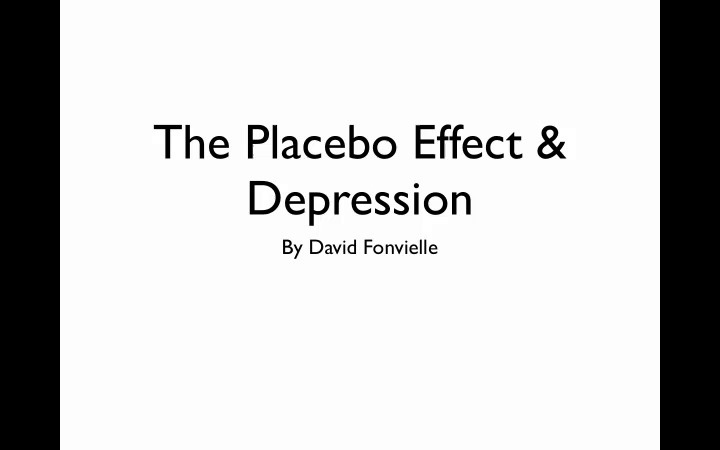 What Is The Placebo Effect For Depression Why Is It Important