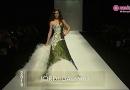 De gekleurde bruidsjurk – Barcelona Bridal Week catwalk 2013