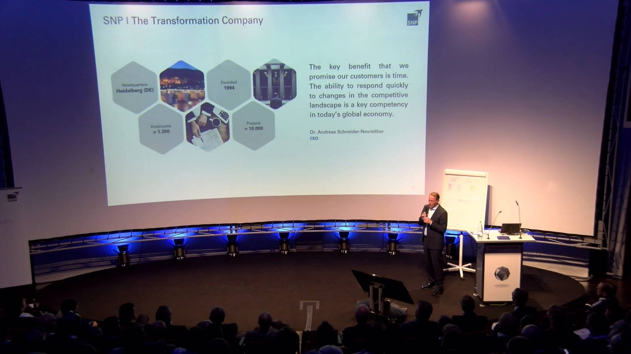 Transformation World 2018 – Opening Keynote Day 1: Dr  Andreas  Schneider-Neureither - S/4HANA BLUEFIELD Model powered by CrystalBridge