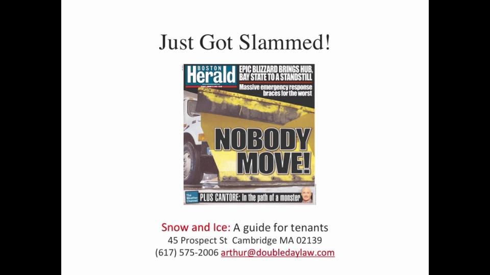 9bcd43ca Landlords must clear snow and ice after a snowstorm or risk legal liability