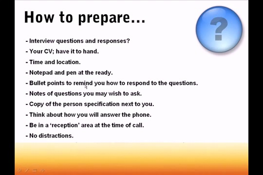 How To Pass Telephone Interviews Tips Advice How2become