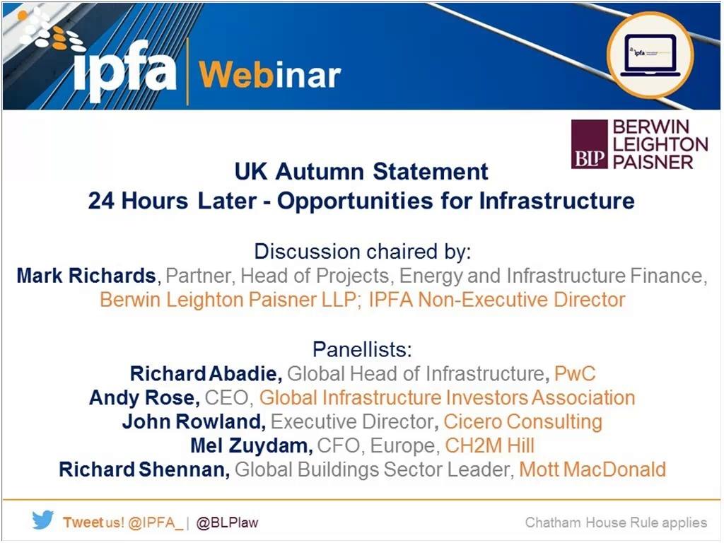 ipfa webinar uk autumn statement 24 hours later opportunities