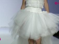 Desfile da melhor seleção de vestidos de noiva curtos para 2015 [Video]