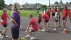 Queens Baton Relay: Eastriggs Primary School