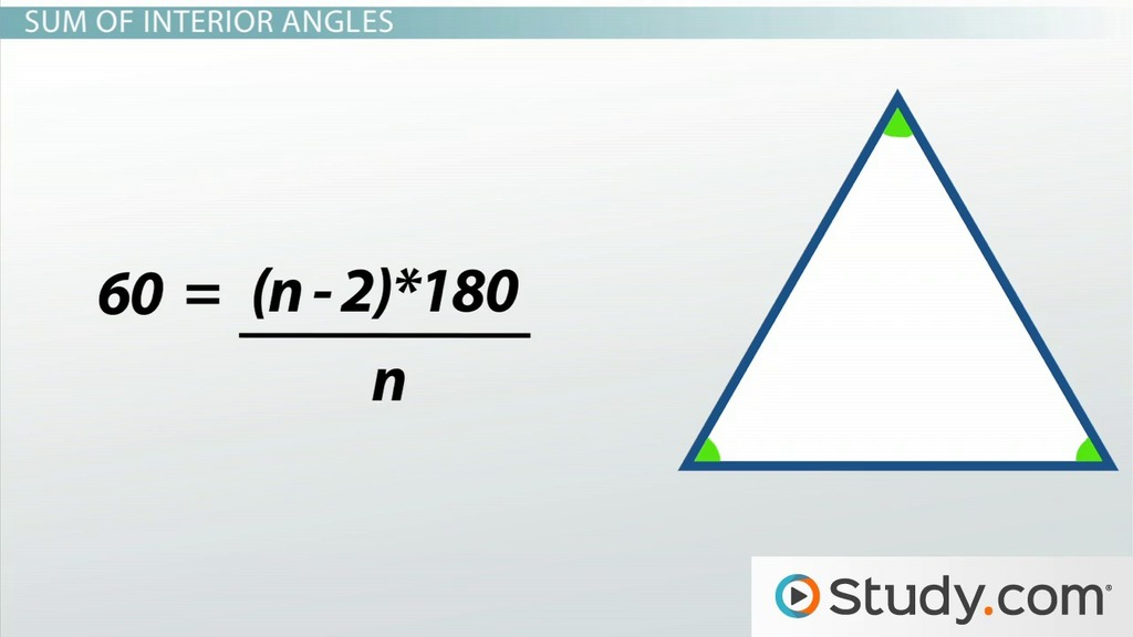 How to Measure the Angles of a Polygon Find the Sum Video