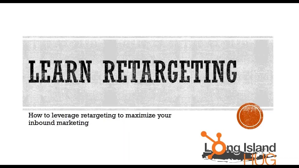 Wistia video thumbnail - Retargeting A-to-Z - Encore Presentation
