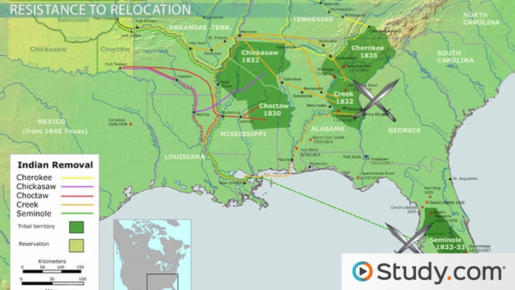 Indian Removal Act of 1830: Summary, Timeline & Facts - Video ...