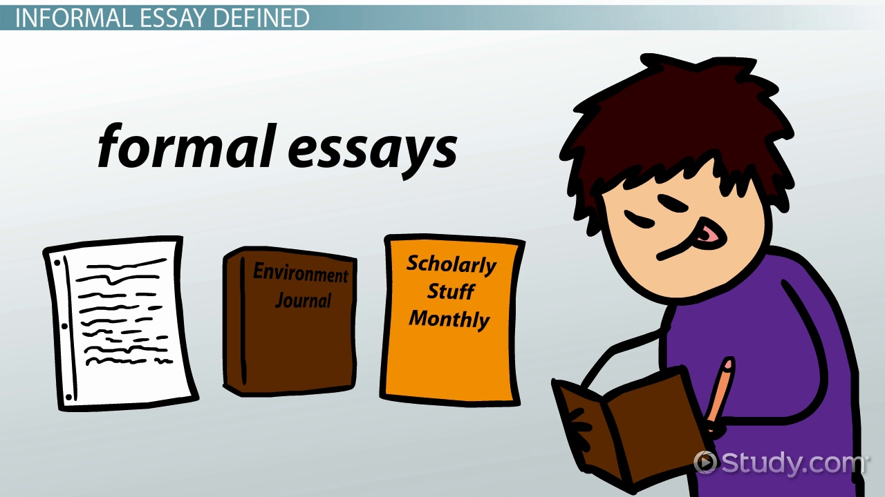 formal essays definition At a glance purposes of formal writing assignments to give students opportunities to give form to and demonstrate the knowledge and.