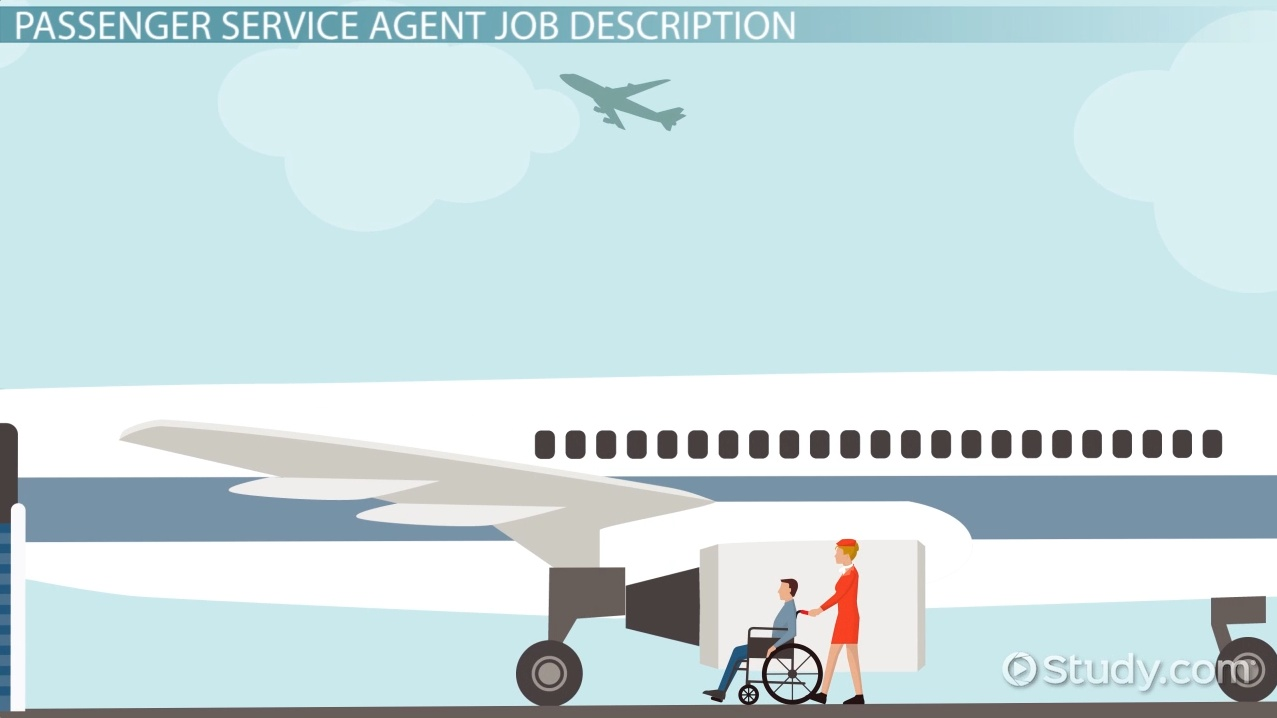 Passenger Service Agent Job Description Outlook and Salary – Travel Agent Job Description