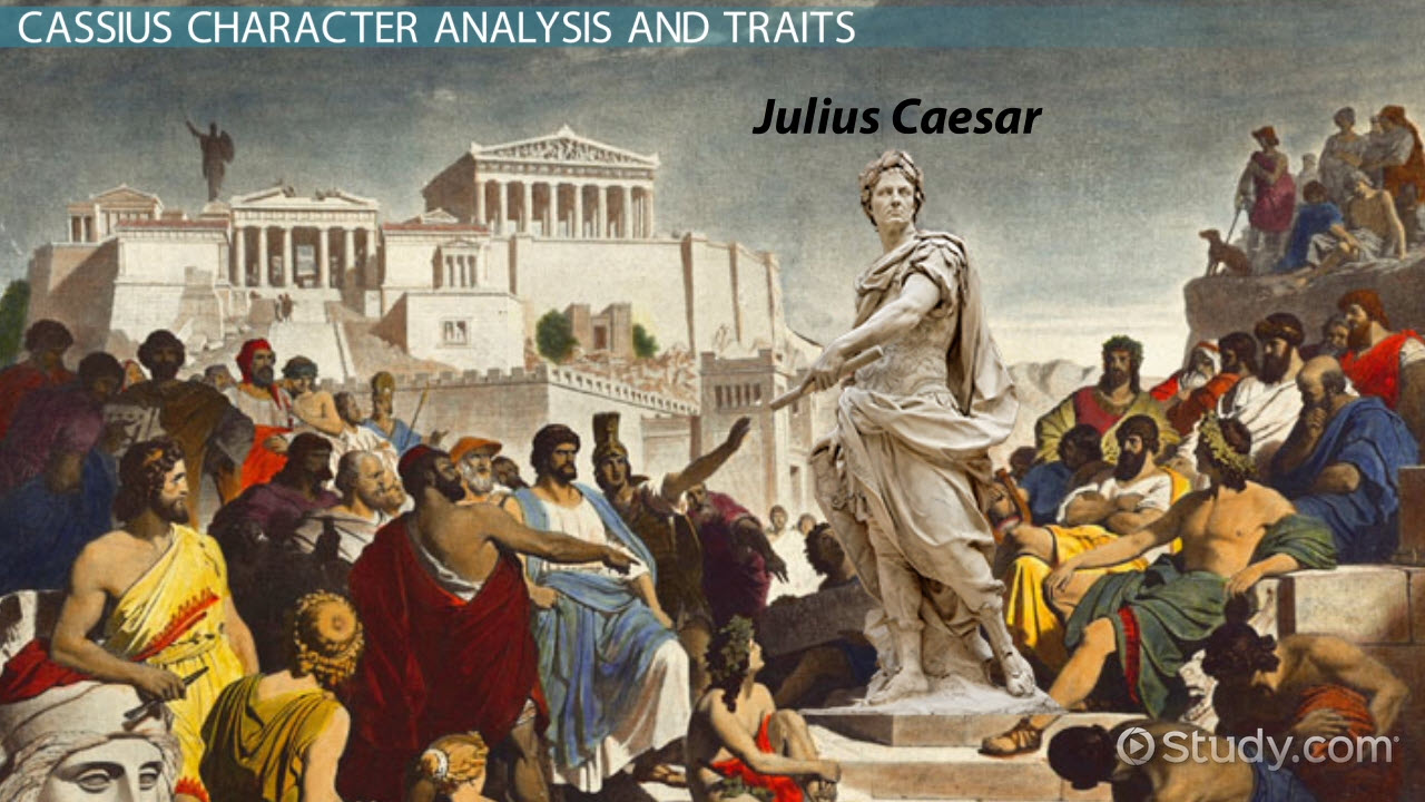 a description of julius caesar portrayed in two different aspects The best and worst qualities of julius caesar, brutus, cassius and other characters in the play,  we see antony in session with the other two triumvirs,.