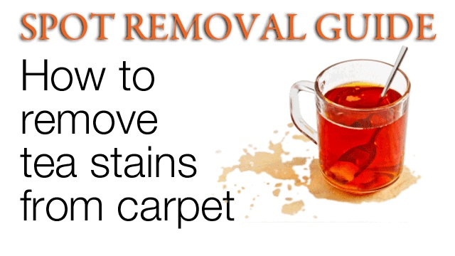 how to remove tea stains from carpet remove tea stains on carpet spot removal guide