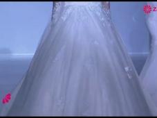 Brautkleider 2014 mit Spitzen-Dekolleté [Video]